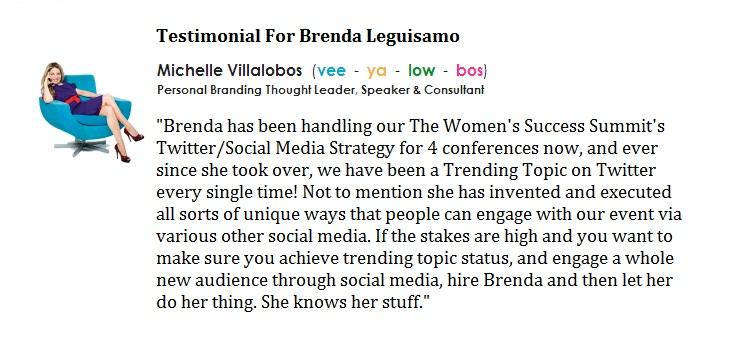 Brenda Leguisamo Testimonial 6