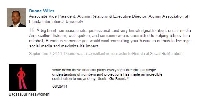 Brenda Leguisamo Testimonial 2