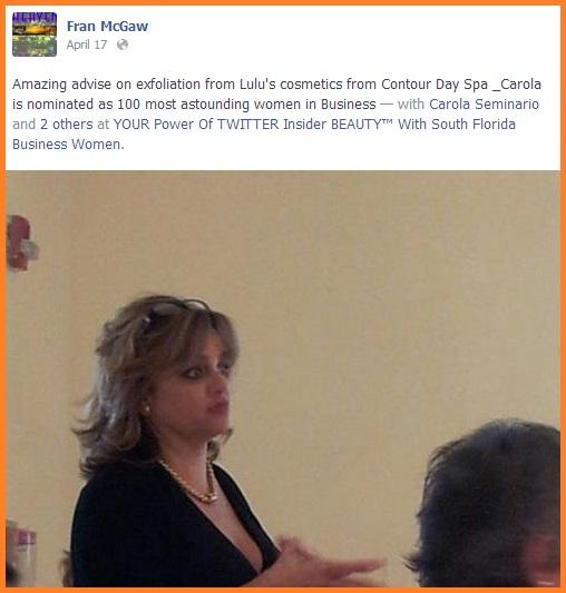 Social Biz Members Testimonial Fran McGraw