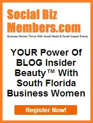 Social Biz Members Your Power Of Blog Insider Beauty