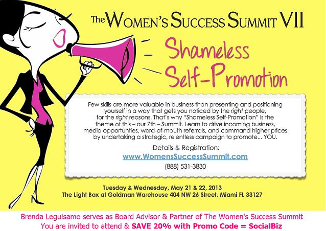 Brenda Leguisamo board advisor and partner womens success summit-sm