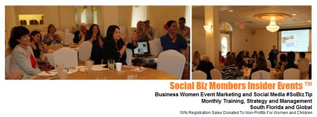 Social Biz Members Insider Events Brenda Leguisamo South Florida Business Women Global