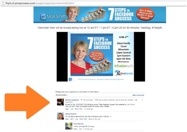1 Brenda Leguisamo Social Biz Members Event Review 1 of 30 Mari Smith-3